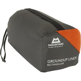 Mountain Equipment Groundup Liner Rectangular, rojo